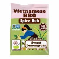 Star Anise Foods Ho Chi Minh Sweet Lemongrass Vietnamese BBQ Spice Rub - 1 oz