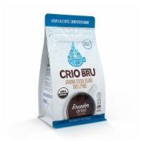 Crio Bru Organic Ecuador Light Roast Ground Cocoa Beans