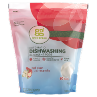Grab Green Automatic Dishwashing Detergent Pods Red Pear with Magnolia - 60 ct