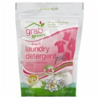 Grab Green 3-In-1 Gardenia Laundry Detergent Pods