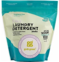 GrabGreen Fragrance Free 3-in-1 Laundry Detergent