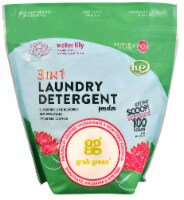 GrabGreen  3-in-1 Laundry Detergent Water Lily