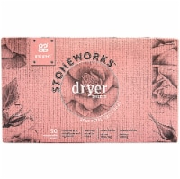 GrabGreen  Stoneworks™ Dryer Sheets Rose Petal
