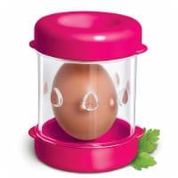 Negg Boiled Egg Peeler -FUCHSIA
