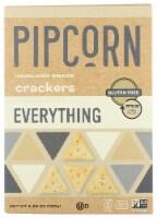 Pipcorn Everything Heirloom Snack Crackers