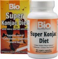 Bio Nutrition - Super Konjac Diet - 90 Veggie Capsules - Case of 1 - 90 VCAP each