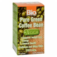 Bio Nutrition - Pure Green Coffee Bean - 50 Gelcaps - Case of 1 - 50 GCAP each
