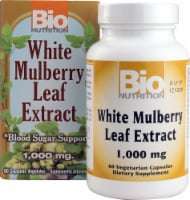 Bio Nutrition White Mulberry Leaf Extract Vegetarian Capsules 1000mg