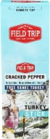 Field Trip  Turkey Jerky Stick Gluten Free   Cracked Pepper