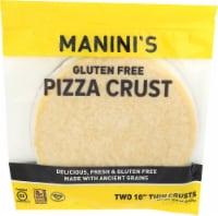 Manini's Gluten Free Pizza Crust