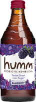 Humm Kombucha Blackberry Probiotic Kombucha - 14 oz