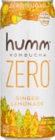 Humm Kombucha Zero Ginger Lemonade