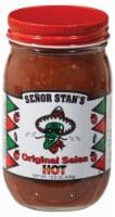 Senor Stan's Original Hot Salsa - 16 oz