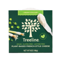 Treeline Treenut Cheese Scallion Flavor Soft French-Style Nut Cheese