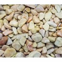 Exotic Pebbles & Aggregates 246920 1.65 lbs Polished Black Exotic Pebbles