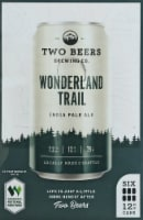Two Beers Brewing Co. Wonderland Trail IPA - 6 cans / 12 fl oz