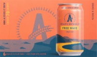 Athletic Brewing Co. Free Wave Non-Alcoholic Hazy IPA - 6 cans / 12 fl oz