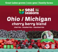 Seal the Seasons Michigan/Ohio Cherry Berry Blend Frozen Fruit