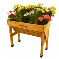 VegTrug Wallhugger Small Raised Bed Planter - Natural FSC 100%