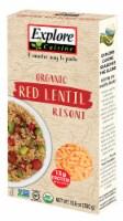 Explore Cuisine Organic Red Lentil Risoni