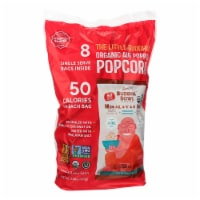 Lesser Evil Organic Air Popped Popcorn - Himalayan Pink - Case of 12 - 8/.46 oz - 12 case - 8/0.46 OZ each