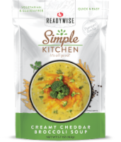Simple Kitchen Creamy Cheddar Broccoli Soup