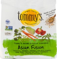 Tommy's Superfoods Asian Fusion Seasoned Vegetables
