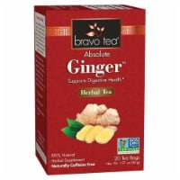 Bravo Teas and Herbs - Tea - Absolute Ginger - 20 Bag