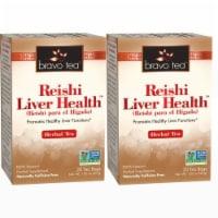 Bravo Teas and Herbs - Tea - Reishi Liver Health - 10/6 Bag