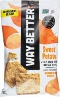 Way Better Snacks  Gluten Free Non-GMO Tortilla Chips Way Bigger Bag   Sweet Potato - 11 oz