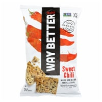 Way Better Snacks Tortilla Chips - Sweet Chili - Case of 12 - 5.5 oz. - 12-5.5 OUNCE