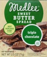 Medlee Foods Triple Chocolate Sweet Butter Spread - 2.5 oz