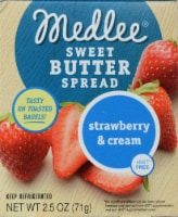 Medlee Foods Strawberry & Cream Sweet Butter Spread - 2.5 oz