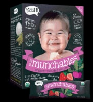 Nosh  Baby Munchables Teething Wafers - Strawberry & Beet