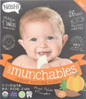 Nosh  Baby Munchables Teething Wafers - Sweet Potato & Pumpkin