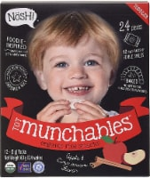 Nosh  Tot Munchables Rice Snacks   Apple & Cinnamon