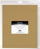 ColorPlan 100lb Cover Solid Cardstock 8.5 X11  10/Pkg-Naturals - 1