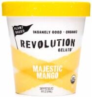 Revolution Gelato Plant-Based Organic - Majestic Mango Vegan Ice Cream (8 Count) - 8 ea