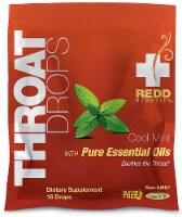 Redd Remedies  Throat Drops   Cool Mint