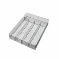 YBH Home 1596 Mesh 5-Part In-Drawer Cutlery Organizer Tray
