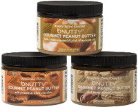 GOURMET PEANUT BUTTER- SWEET AND SALTY | 3 PACK - 3 JARS/12 OUNCES EACH