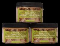 GOURMET PEANUT BUTTER- SKINNY DIP | 3 PACK - 3 JARS/12 OUNCES EACH