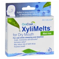 OraCoat Mint-Free XyliMelts For Dry Mouth - 40 ct