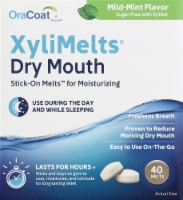 OraCoat XyliMelts for Dry Mouth - 40 ct