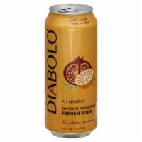 Diabolo Tangerine Pomegranate French Soda