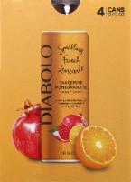 Diabolo Tangerine Pomegranate Sparkling French Lemonade
