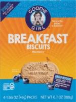 Goodie Girl Gluten Free Blueberry Breakfast Biscuits