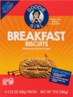 Goodie Girl Gluten Free Cinnamon Brown Sugar Breakfast Biscuits
