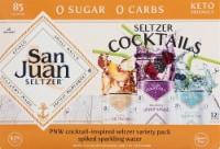 San Juan Seltzer Cocktails Variety Pack - 12 cans / 12 fl oz