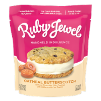 Oatmeal Butterscotch Ice Cream Sandwich